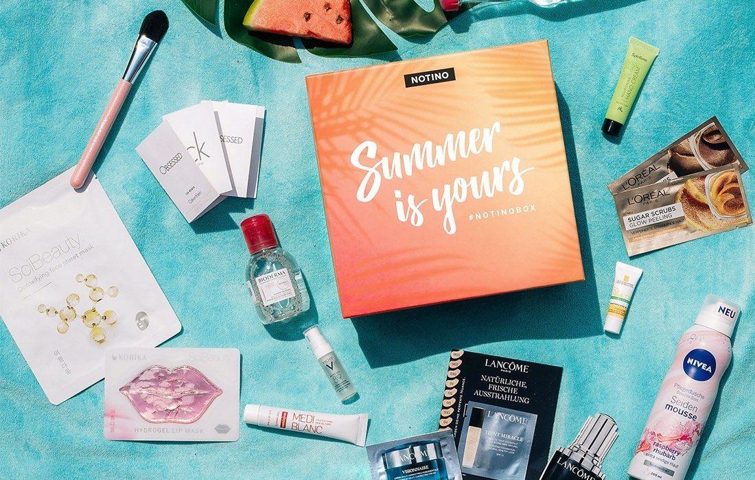 Notino Summer Box – letná nevyhnutnosť