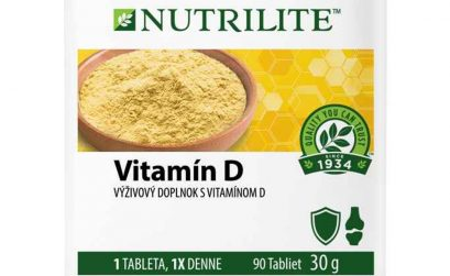 Nový Vitamín D od NUTRILITE