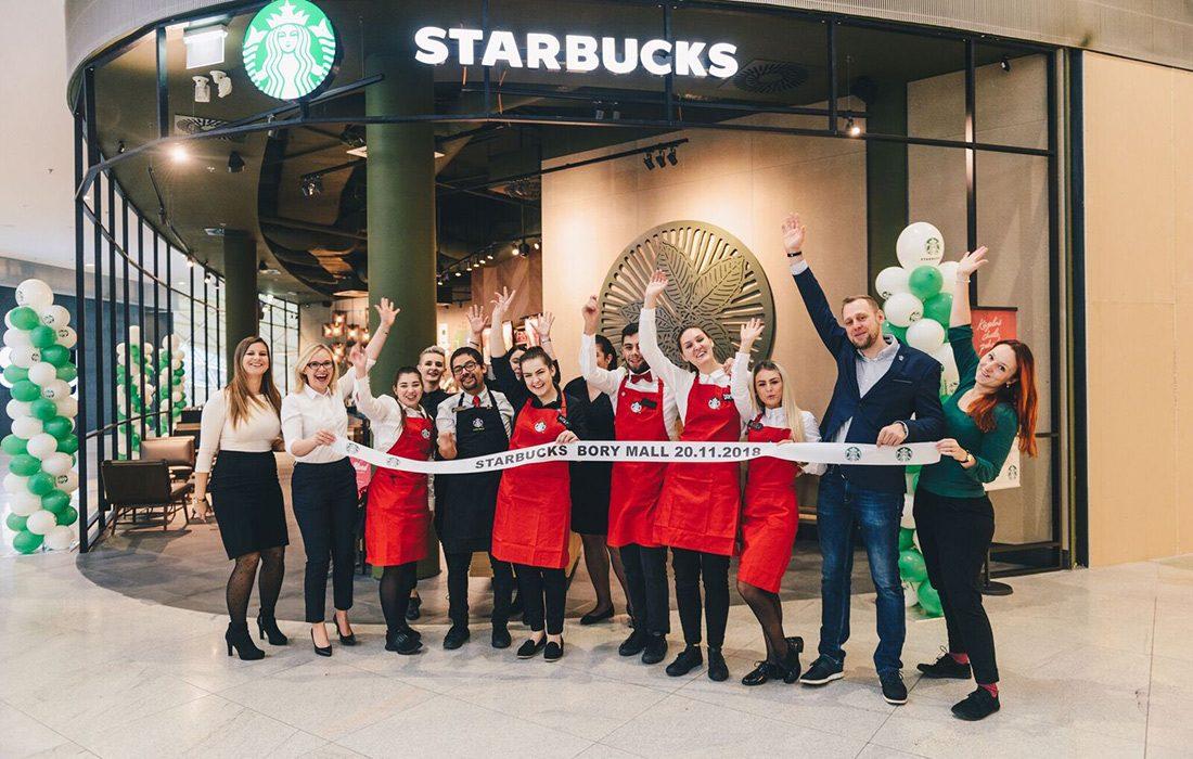 kaviareň Starbucks Bory Mall