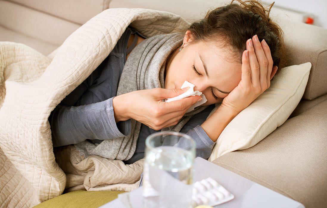 Nastavte imunitu na sychravé počasie